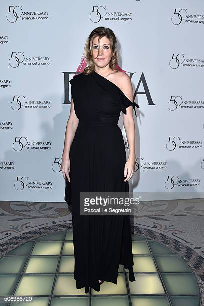 Amanda Sthers attends the Launch Of The New Fragrance 'La Diva' And 50th Anniversary Of Emanuel Ungaro at Le Petit Palais on January 26 2016 in Paris...