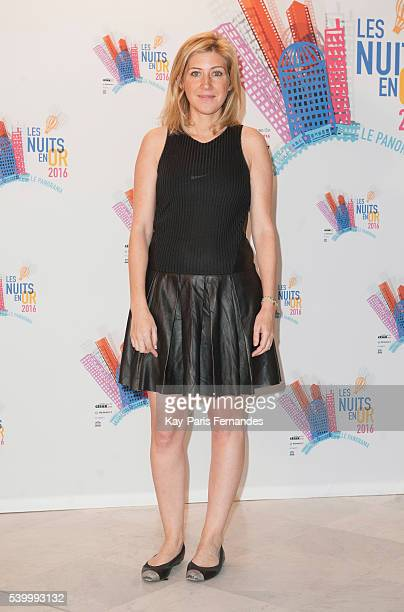 Amanda Sthers attends the 'Les Nuits En Or 2016' Gala dinner at UNESCO on June 13 2016 in Paris France