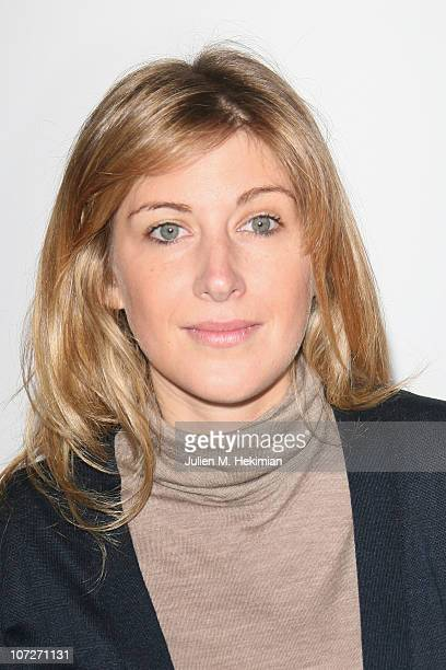 Amanda Sthers attends the Madame Figaro 30th Anniversary Celebration at Salle Wagram on December 2 2010 in Paris France