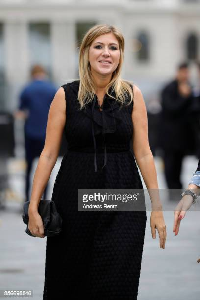 Amanda Sthers attends the 'Madame' photocall during the 13th Zurich Film Festival on October 2 2017 in Zurich Switzerland The Zurich Film Festival...