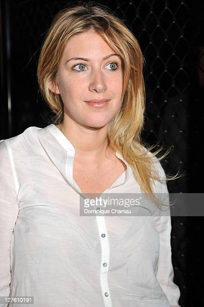 Amanda Sthers attends the Sonia Rykiel Ready to Wear Autumn/Winter 2011/2012 show during Paris Fashion Week at Pavillon Concorde on March 5 2011 in...
