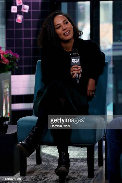 Amanda Sudando of Johnnyswim attends the Build Series to discuss 'Moonlight' at Build Studio on March 27 2019 in New York City