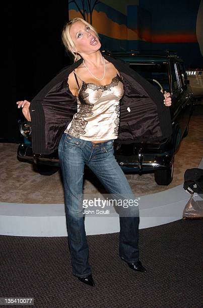 Amanda Swisten during HD EXPO at Petersen Automotive Museum in Los Angeles California
