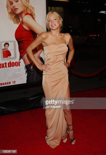 Amanda Swisten during 'The Girl Next Door' World Premiere at Mann's Grauman Chinese Theater in Hollywood California United States