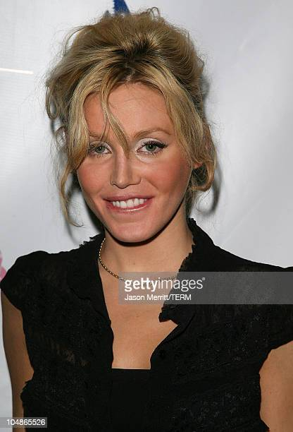 Amanda Swiston during 100 Model Citizens Fight Against Breast Cancer April 11 2006 at BOA Lounge in Hollywood California United States