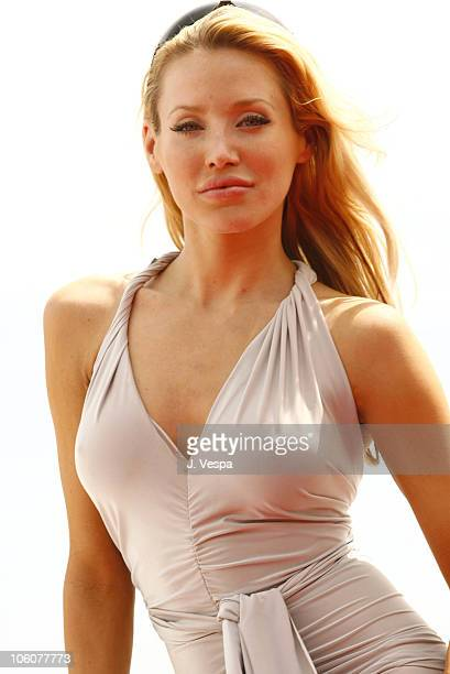 Amanda Swiston during 2006 Cannes Film Festival Amanda Swiston and Melissa Balin Portraits at AB Yacht in Cannes France