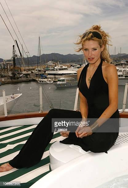 Amanda Swiston during 2006 Cannes Film Festival Amanda Swiston and Melissa Balin Portraits at AB Yacht in Cannes France