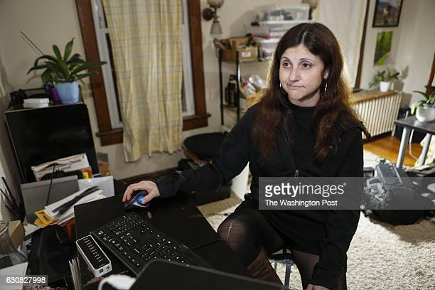 Amanda takes some time to check out social media at her home in Washington DC Amanda has been a target of the pizzagate online harassment attacks For...