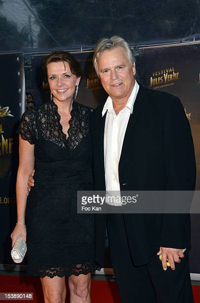 Amanda Tapping and Richard Dean Anderson attend the Jules Vernes Awards 20th Anniversay Ceremony 'Tribute To Richard Dean Anderson' at the Grand Rex...