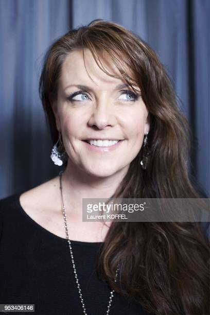 Amanda Tapping session portrait at 'Hotel du Louvre' on october 11 2012 in Paris France