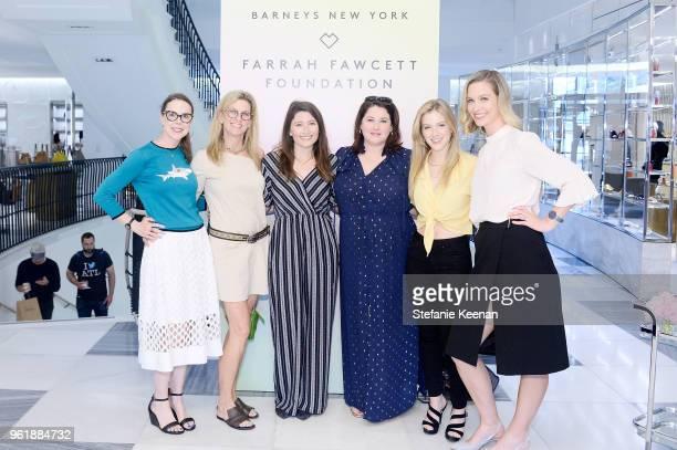 Amanda Thomspon Meghan Hudgins Taylor Treadwell Cristy Coors Beasley Kabby Borders and Helen Kennedy Turner attend Barneys New York Celebrates the...