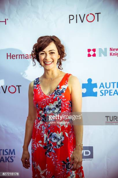 Amanda Troop attends Autism Speaks' 5th Annual Celebrity Poker Tournament at Herman Miller Show Room on August 5 2017 in Los Angeles California