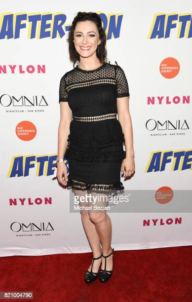 Amanda Troop attends NYLON And NVE | The Experience Agency Present AfterCon At OMNIA San Diego at Omnia Nightclub on July 22 2017 in San Diego...