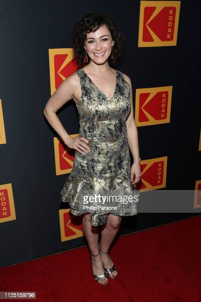 Amanda Troop attends the 3rd annual Kodak Awards at Hudson Loft on February 15 2019 in Los Angeles California