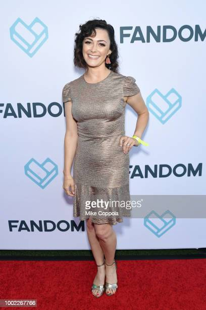 Amanda Troop attends the Fandom Party during ComicCon International 2018 at Float at Hard Rock Hotel San Diego on July 19 2018 in San Diego California