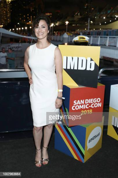 Amanda Troop attends the #IMDboat Party At San Diego ComicCon 2018 Sponsored By Atom Tickets at The IMDb Yacht on July 20 2018 in San Diego California
