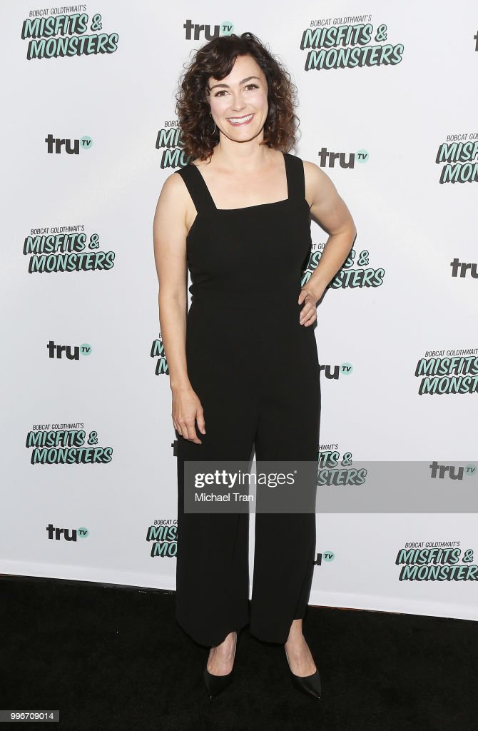 Amanda Troop attends the Los Angeles premiere of truTV's 'Bobcat Goldthwait's Misfits & Monsters' held at Hollywood Roosevelt Hotel on July 11, 2018 in Hollywood, California.
