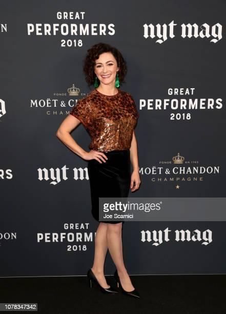 Amanda Troop attends The New York Times Magazine celebration of The Great Performers Issue at NeueHouse Los Angeles on December 06 2018 in Hollywood...