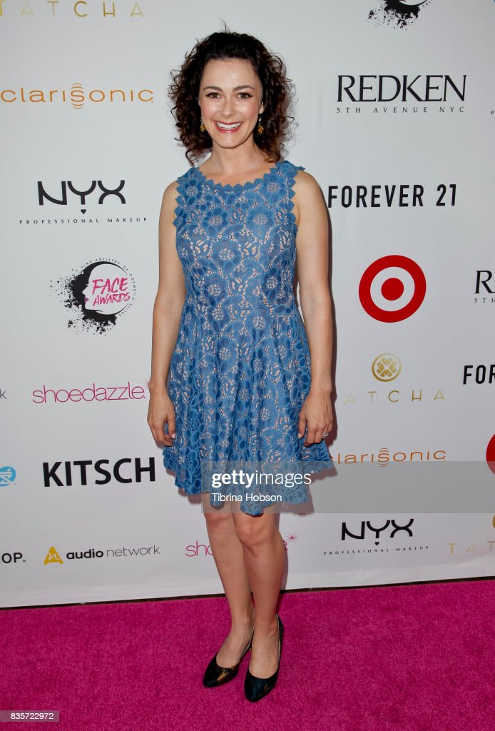 Amanda Troop attends the NYX Professional Makeup's 6th annual FACE Awards at The Shrine Auditorium on August 19, 2017 in Los Angeles, California.