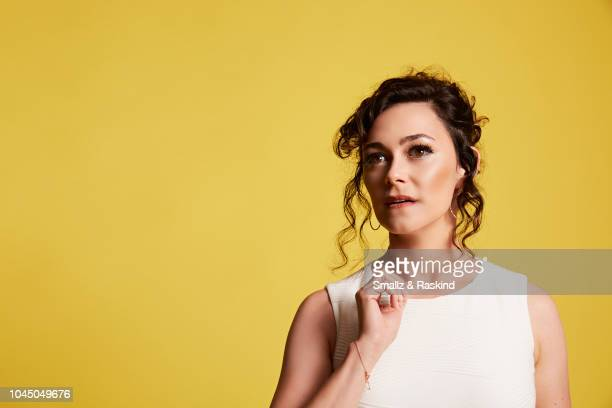 Amanda Troop from Warner Bros Animation and DC Entertainment's 'The Death of Superman' poses for a portrait at the Getty Images Portrait Studio...