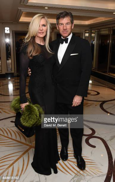 Amanda Wakeley and Hugh Morrison attend the English National Ballet's Spring Gala at The Dorchester on March 6 2017 in London England