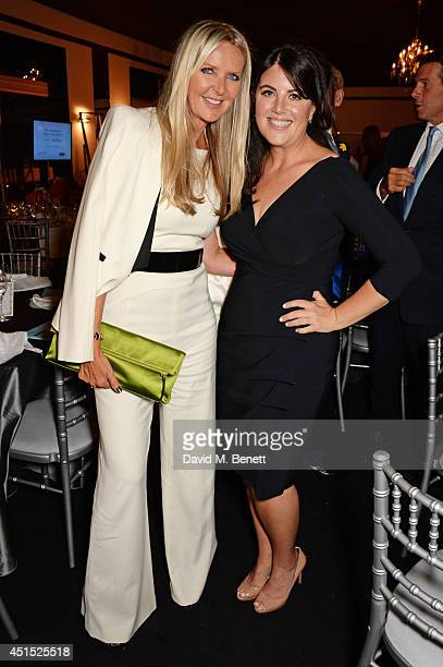 Amanda Wakeley and Monica Lewinsky attend The Masterpiece Marie Curie Party supported by JaegerLeCoultre and hosted by Heather Kerzner at The Royal...