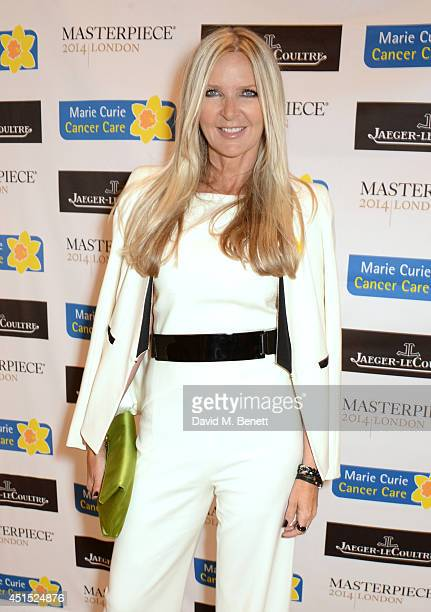 Amanda Wakeley arrives at The Masterpiece Marie Curie Party supported by JaegerLeCoultre and hosted by Heather Kerzner at The Royal Hospital Chelsea...