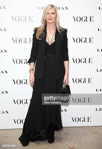 Amanda Wakeley attends at Vogue 100 A Century Of Style atNational Portrait Gallery on February 9 2016 in London England