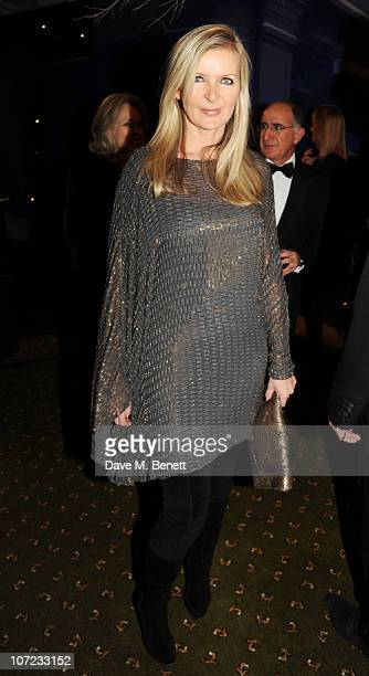 Amanda Wakeley attends The Dickensian Ball at Harrods on December 1 2010 in London England