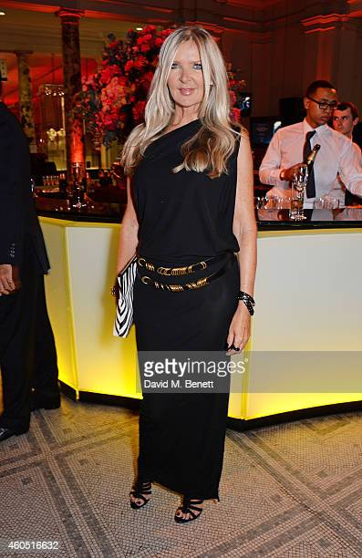 Amanda Wakeley attends The F1 Party in aid of the Great Ormond Street Children's Hospital at the Victoria and Albert Museum on July 2, 2014 in...