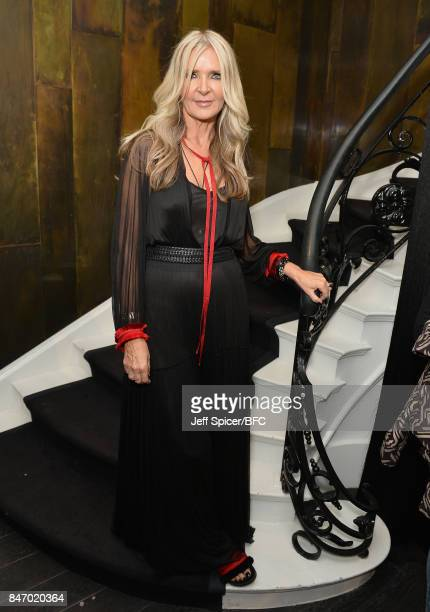Amanda Wakeley attends the launch of her Autumn/Winter 2017 campaign during London Fashion Week September 2017 on September 14 2017 in London England