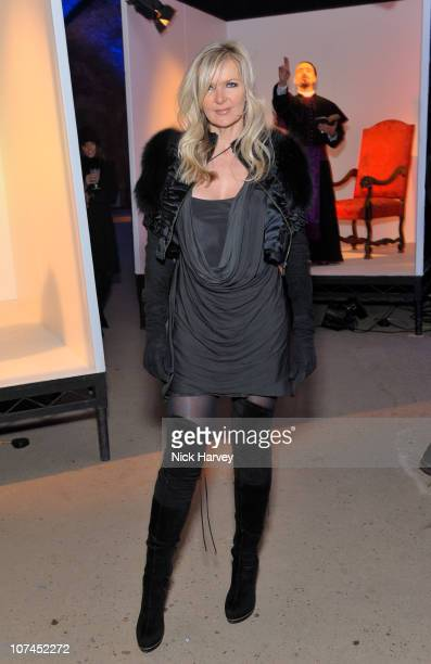 Amanda Wakeley attends the launch of Stephen Webster's jewellery collections 'The 7 Deadly Sins' and 'No Regrets' at Old Vic Tunnels on December 8...