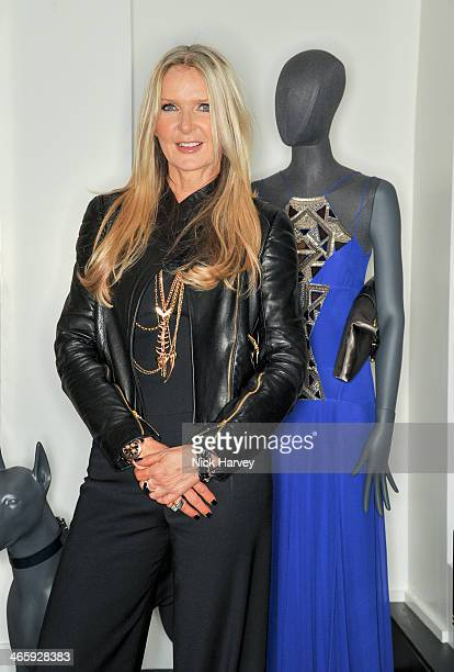 Amanda Wakeley attends the opening of the new Amanda Wakeley store on January 30 2014 in London England