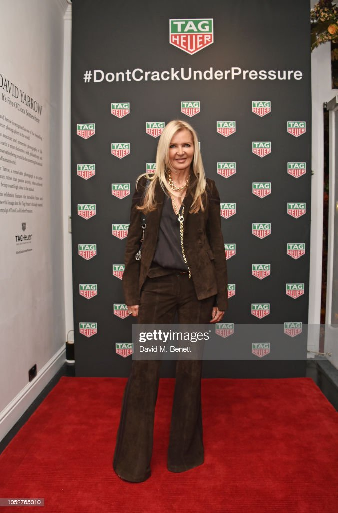 8c61fe16dc Amanda Wakeley attends the TAG Heuer auction featuring unseen art ...