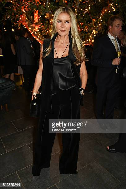 Amanda Wakeley attends the Tatler Little Black Book party with Polo Ralph Lauren at Restaurant Ours on October 20 2016 in London England