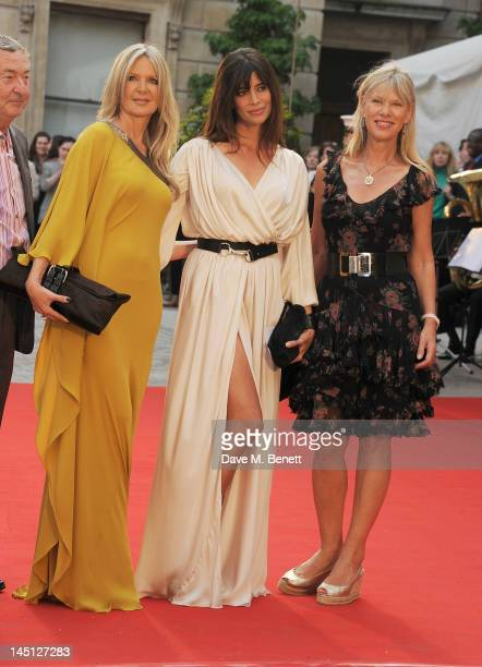Amanda Wakeley Lisa Barbuscia aka Lisa B and Annette Mason attend 'A Celebration Of The Arts' at the Royal Academy of Arts on May 23 2012 in London...