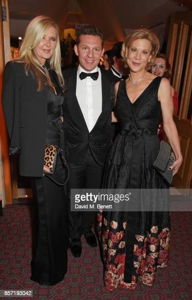 Amanda Wakeley Nick Candy and Amanda Staveley attend the BFI and IWC Luminous Gala at The Guildhall on October 3 2017 in London England