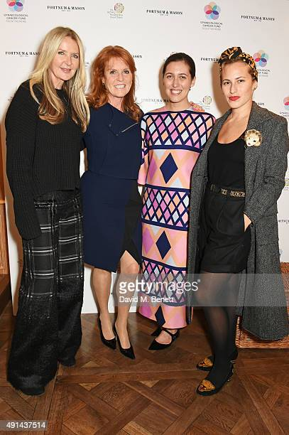 Amanda Wakeley Sarah Ferguson Duchess of York Emilia Wickstead and Charlotte Dellal attend the annual ladies' lunch in support of the Silent No More...