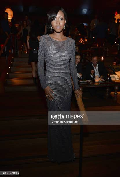 Amanda Warren attends The Leftovers premiere after party at TAO on June 23 2014 in New York City