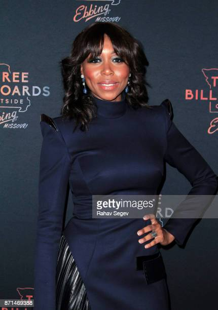 Amanda Warren attends the premiere of 'Three Billboards Outside Ebbing Missouri' on November 7 2017 in New York City