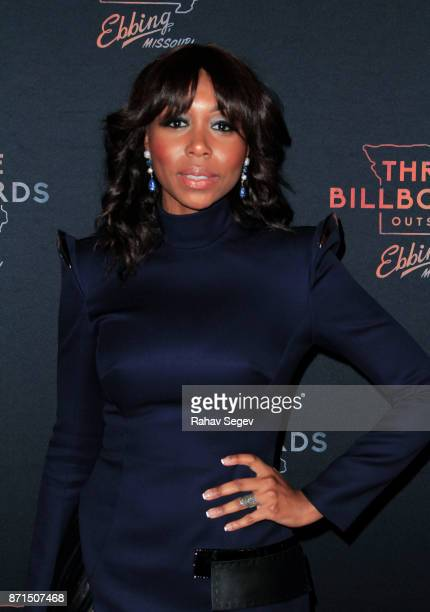Amanda Warren attends the premiere of Three Billboards Outside Ebbing Missouri at BAM on November 7 2017 in New York City