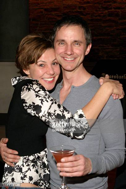 Amanda Watkins and Guy Adkins during Gran Centenario Hosts the Opening Night Cast Party for 'Sweet Charity' December 5 2006 Gran Centenario Sweet...