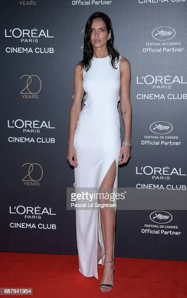 Amanda Wellsh attends the Gala 20th Birthday Of L'Oreal In Cannes during the 70th annual Cannes Film Festival at Martinez Hotel on May 24 2017 in...