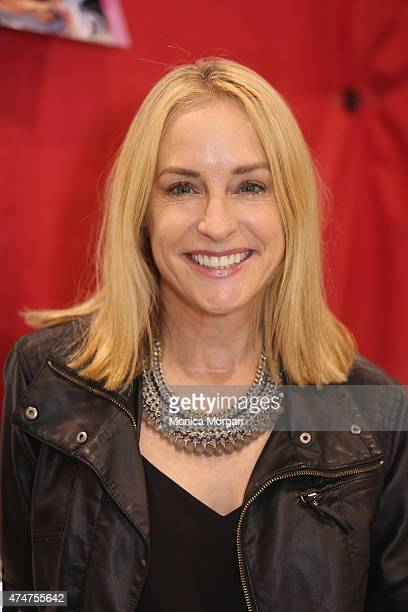 Amanda Wyss known for roles in A Nightmare on Elm Street and Fast Times at Ridgemont High attends the Motor City Comic Con at Suburban Collection...
