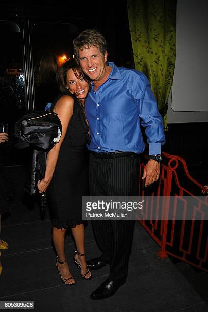 Amanda Zacharia and Donny Deutsch attend ABY ROSEN Birthday Celebration at Chinatown Brasserie on May 15 2006 in New York City