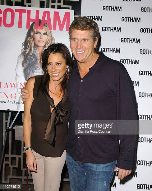 Amanda Zacharia and Donny Deutsch during Larry King and Gotham Magazine Celebrate Shawn King's New Album In My Own Background at Lotus in New York...