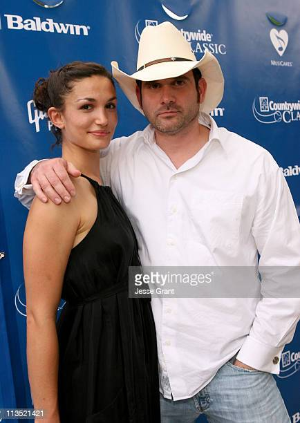 Amanda Zarr and Todd Phelps during Gibson and Baldwin Host 2006 'Night at the Net' Red Carpet at Los Angeles Tennis Center in Los Angeles California...