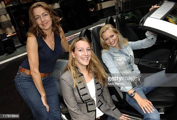 Amanda Zuydervelt and Claire Kellockf rom Stylebible with Anouska De Georgiou