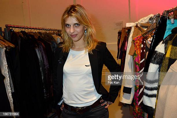 Amandine Bourgeois attends 'La Braderie de L'Eclaireur 2012' in Benefit of Rose Association Against Cancer at Galerie Diana Marquardt on November 19...