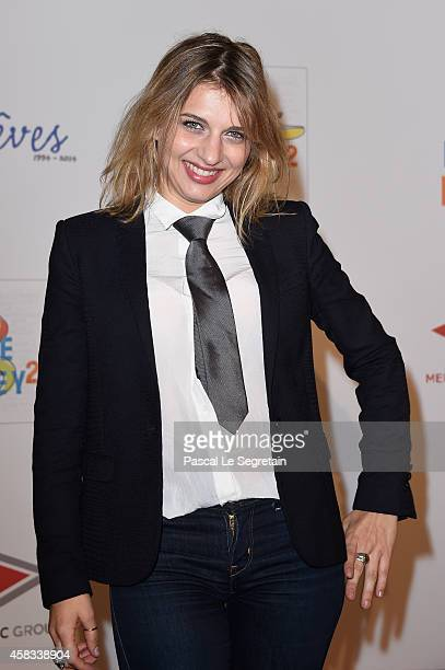 Amandine Bourgeois attends 'WE Love Disney' Premiere To Benefit 'Reves Association' at Le Grand Rex on November 3 2014 in Paris France